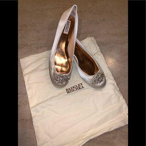 Badgley Mischka Shoes - Badgley Mischka 'Abella' Embellished Ballet Flats